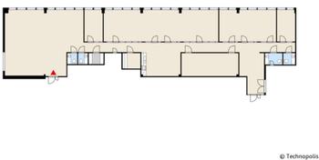 Yliopistonrinne Kalevantie 2 tsto 358m2 5krs pohjakuva