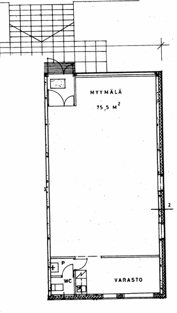 Klaneettitie 4, Hki 75m2 pohjakuva