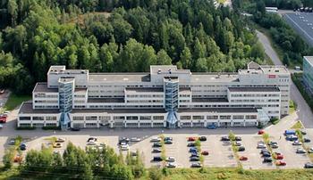 Sinimäentie 10, Espoo julkisivu