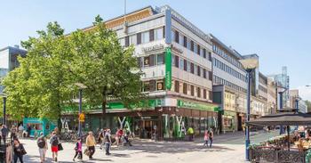Kauppakatu 39 Jyväskylä julkisivu