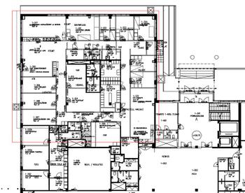 Biokatu 6_1krs toimisto 446m2 pohjakuva