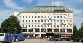 Puistokatu 2-4 Jyväskylä julkisivu