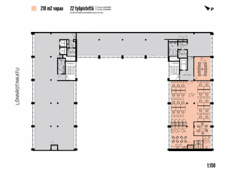 Lönnrotinkatu 20 - 2. ja 5. krs C markkinointipohja 218 m2