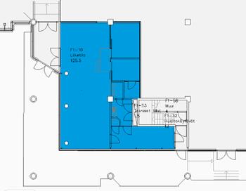 Malminkaari13-19,Hki 125m2 katutaso lh