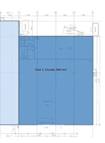 Päivölänkatu 2 Rakennus A 986m2 pohja