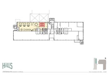 Klovinpellontie 1-3, Torni 2, 3. krs toimisto A_253 m2