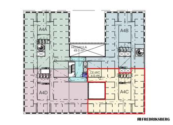 Konepajankuja 1, 4. krs. 400 m2