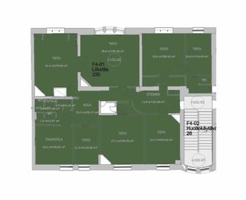 Hämeenkatu 256 m2 4. krs