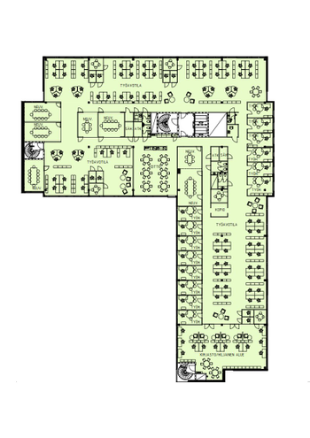 Klovinpellontie 1-3, Torni 1, 4. krs_1530 m2