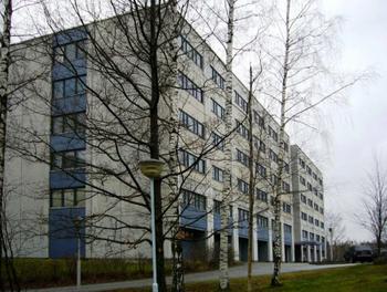 Sinikalliontie 9, Espoo, Julkisivu