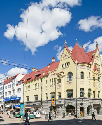 Kuninkaankatu 21 Tampere Tirkkosen talo julkisivu5