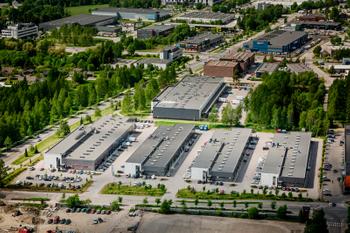 Puutarhatie 18-24, Vantaa Ilmakuva