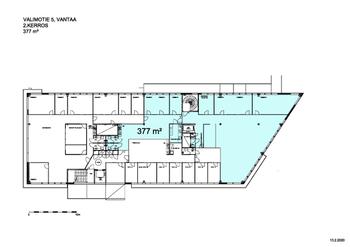 Tammiston Kauppatie 7 2.krs 385m2 pohjakuva