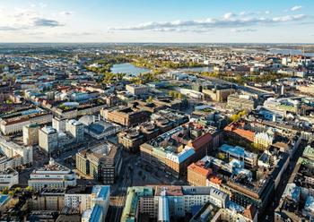 Helsinki ilmakuva