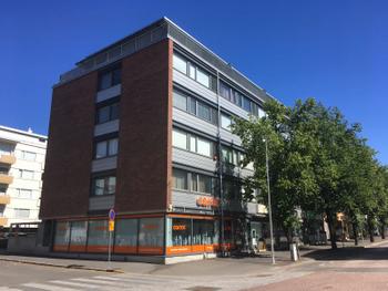 Julkisivukuva 2018 Oulun Hallituskatu 25