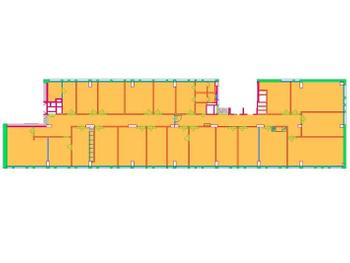 Rautatienkatu 21 8krs 395m2 pohja