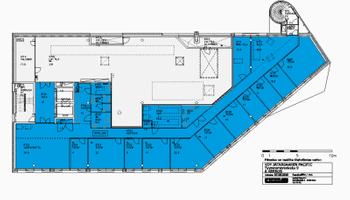 Tyynenmerenk.9,Hki 396,5m2 6.krs tsto tila 601